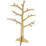 Ξύλινο διακοσμητικό δέντρο 43x23cm