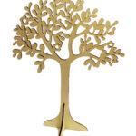 """Ξύλινο διακοσμητικό δέντρο """"ελιά"""" 44x33cm"""