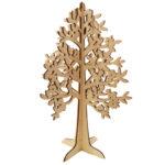 Ξύλινο διακοσμητικό δέντρο 44x30cm